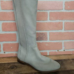 LOUISE ET CIE Vallery Gray Leather Boots size 7